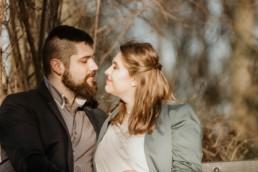 zakochana szczęśliwa para
